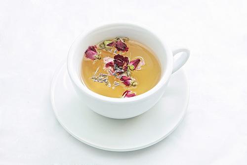 Lavender Rose Flower Tea